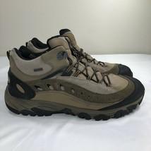 Merrell Hiking Boots Leather Trail Shoes Walnut Men's 14 Waterproof Sport Work - $59.99