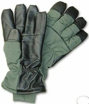 MULTIPLE SIZES NEW USAF COLD WEATHER FIRE RESISTANT NOMEX FLYERS GLOVES ... - $15.95