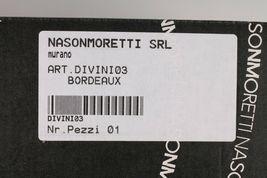 Nason Moretti Divini Bordeaux Wine Chalice Murano Glass DIVINI03 NEW in Box image 7