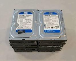 ^^^10 x Western Digital WD Blue 500GB Internal 7200 RPM WD5000AAKX Hard Drives - $98.01
