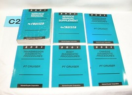 2001 Pt Cruiser Factory Service Manual Set Used Condition #C2 - $49.45
