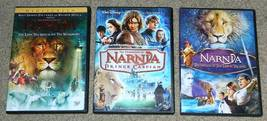 Chronicles of Narnia Dvd Lion Witch Wardrobe Prince Caspian Voyage Dawn ... - $15.00