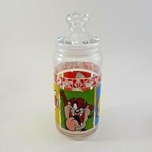 1999 Warner Brothers Looney Tunes Merrie Medleys Glass Cookie Jar image 1