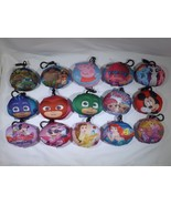 Belt Bag Clip Squish Keychain - New - Assorted Characters - $5.99