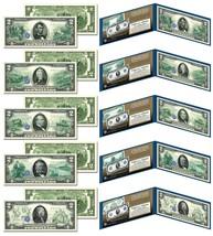 1914 Series FR Bank Notes Hybrid Commemorative - Set of All 5 Modern US ... - $59.35