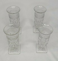 Imperial Cape Cod Clear 1602 Square Footed Parfait Glasses Set of 4 - $27.09