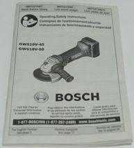 BOSCH GWS18V 45 Cutoff Angle Grinder 18V Blue Package 1 image 10