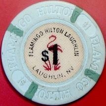 $1 Casino Chip. Flamingo Hilton, Laughlin, NV. V88. - $3.99