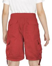 Boys Elastic Waist Drawstring Multi Pocket Cotton Toddler Kids Cargo Shorts image 13