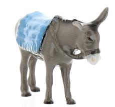 Hagen-Renaker Specialties Ceramic Nativity Figurine Donkey with Blanket image 3