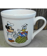 Walt Disney Productions Mickey and Donald Mug Cup - $18.00