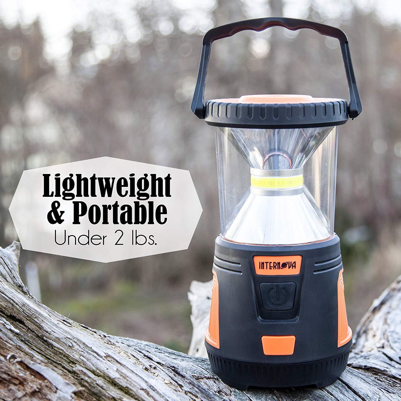 Internova 1000 LED Camping Lantern Fully Adjustable 360 Arc Lighting Valentines image 6