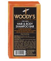 Woody's Hair and Shampoo Body Bar, 8 oz