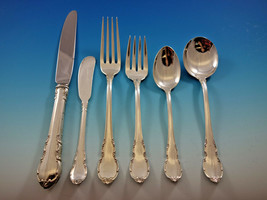 Modern Victorian by Lunt Sterling Silver Flatware Set for 8 Service 50 pieces - $2,695.00