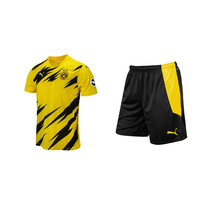 Puma Borussia Dortmund 20/21 Home BVB Football Shirts & Shorts Set Replica - $157.99