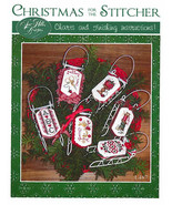 Christmas For The Stitcher sleds cross stitch chart Sue Hillis Designs  - $10.80