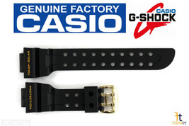 CASIO G-SHOCK FROGMAN GWF-1000G-1 Black Rubber Watch BAND Strap - $68.81