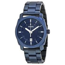 Fossil Machine Blue Dial Stainless Steel Men's Watch FS5231 - $340.00