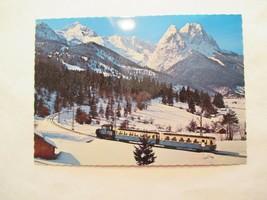 Bayrische Zugspitzbahn Continental Sized Postcard - $2.49