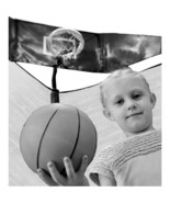Jump N Jam Basketball Hoop trampoline attachment accessory ball pump gam... - $59.99