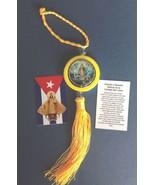 Virgen de la CARIDAD Medal rearview mirror Car Ornament hanging pendant ... - $10.89