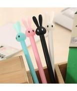 KEVIN&SASA CRAFTS® 4Pcs/Set Rabbit Gel Pens Set Kawaii School Supplies O... - $3.90