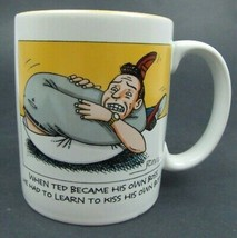 Kiss His Own Butt - Hallmark Comical Funny Coffee Mug - New - $7.92