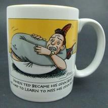 Kiss His Own Butt - Hallmark Comical Funny Coffee Mug - New - $7.92