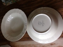 Mikasa large salad bowl-9 1/4 inches wide-ivory... - $14.03
