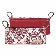 Naforye Stroller Parent Soft Tray (Burgundy) - $19.95