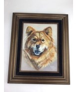 Chow Lab Mix  Painting, Animal, Pet Portrait, Acrylic, Print, 9 x 12 in - $46.74