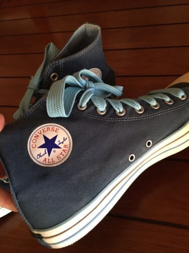 CONVERSE Slate Blue Hightops Hitops Sneakers Shoes Men's Sz 12