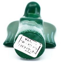 Vaneal Group Hand Carved Kisii Soapstone Green Angel Figurine Made in Kenya image 5