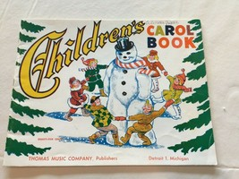 Vintage 1952 Children's Carol Book Thomas Music Company Christmas Piano ... - $18.69