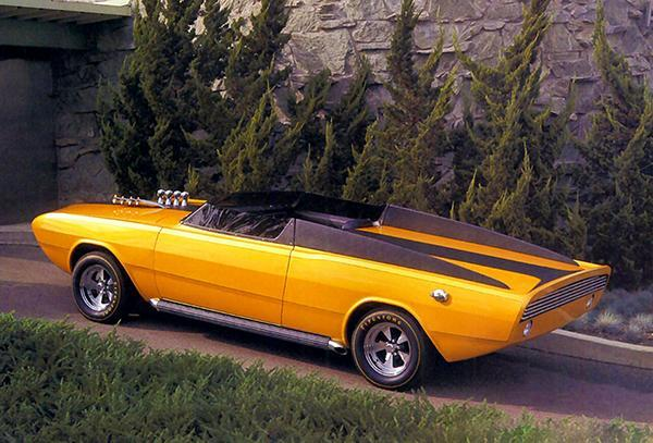 Primary image for 1967 Dodge Dart GT Convertible Daroo I Concept Car #2 - Promotional Photo Poster