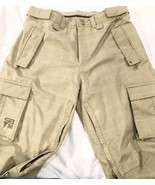Special Blend Men's Tan Plaid Snowboard Ski Snow Pants Size M Principle ... - $56.99