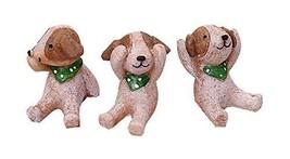 PANDA SUPERSTORE Set of 3 Unique Animal Decoration Good Gift for Kids,1.6''