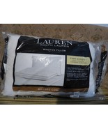 $40.00 Lauren Ralph Lauren Winston Bed Pillow, Firm Density - $8.56