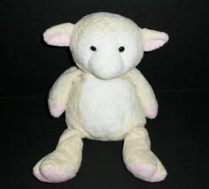 TY SOFT 2003 SHEARLY THE LAMB CREAM BABY SHEEP STUFFED ANIMAL PLUSH TOY ... - $32.73