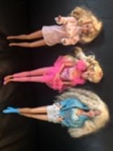Vintage 1993 Western Stampin' Barbie, 1995 Twirling Barbie,Superstar Barbie - $49.49