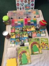 HUGE Perler Kids Crafts BEAD LOT 70,000 Beads + Assorted Arts Supplies K... - $197.99