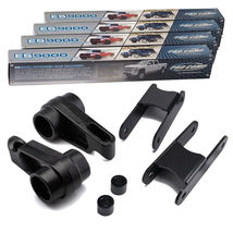 "Heavy Metal For 06-10 Hummer H3 3.5"" Full Level Lift Kit + Extended Shoc... - $413.20"