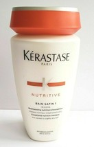 New Kerastase Nutritive Bain Satin 1 Shampooing Nutrition D'exception 8.5 FL OZ