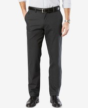 Dockers Men's Signature On the Go Casual Pants Grey Size W38 x L34 - $35.64