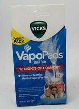 Vicks Vapo Pad Family Pack, 12 Count New - $11.99