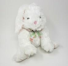 "10"" Melissa & Doug # 7671 Blossom White Bunny Rabbit Stuffed Animal Plush Toy - $18.70"