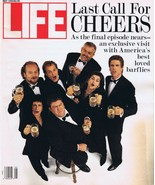 ORIGINAL Vintage May 1993 Life Magazine Last Call for Cheers Newsstand  - $24.74