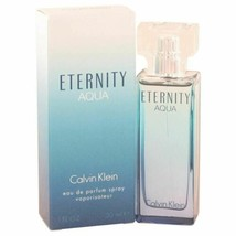 Perfume Eternity Aqua by Calvin Klein 1 oz Eau De Parfum Spray for Women - $30.76
