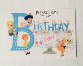 American Greetings Children's Birthday Party Invitations w/Envelopes New - $14.84