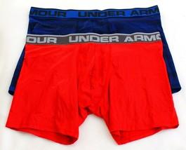 """Under Armour  Red & Blue  6"""" Boxerjock Boxer Brief Underwear 2 in Packag... - $29.99"""